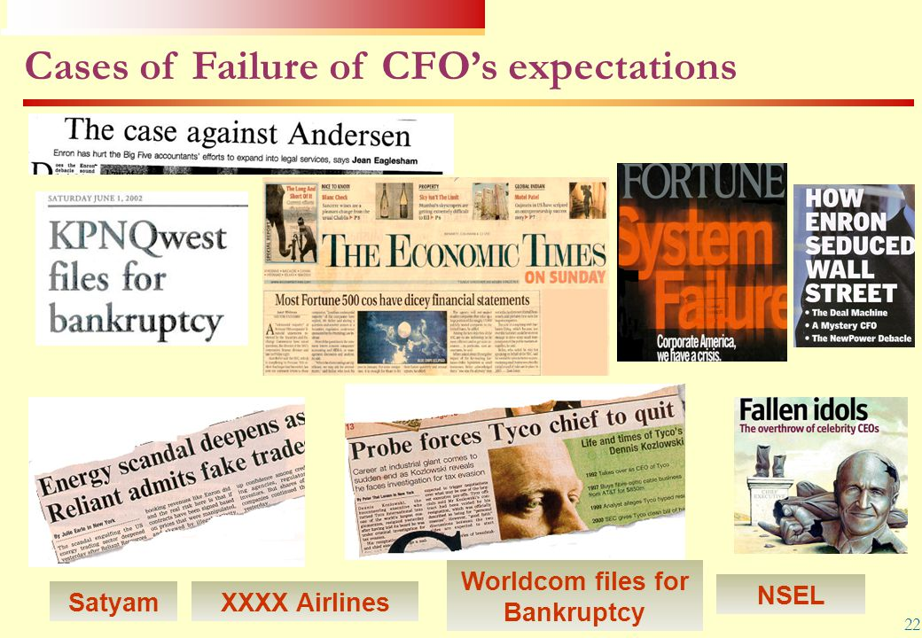 Worldcom files for Bankruptcy