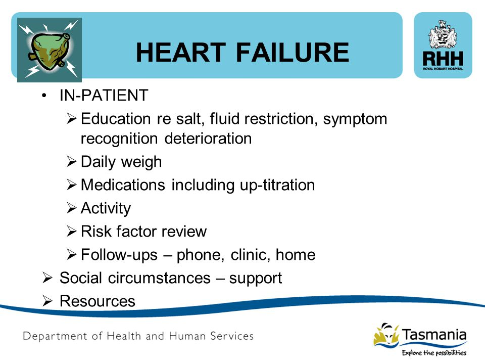 HEART FAILURE IN-PATIENT