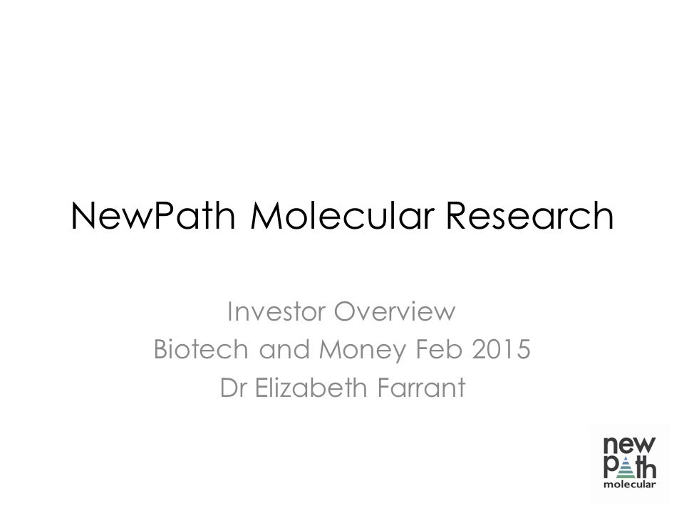 NewPath Molecular Research