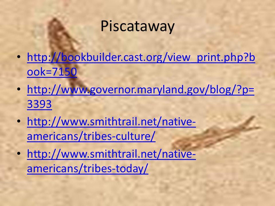Piscataway http://bookbuilder.cast.org/view_print.php book=7150