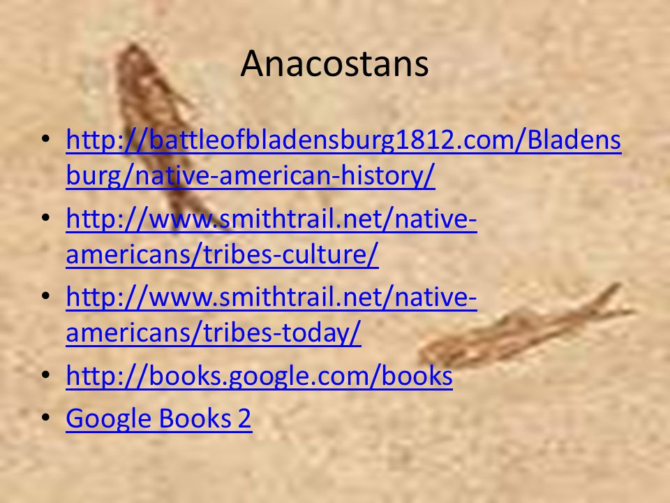 Anacostans http://battleofbladensburg1812.com/Bladensburg/native-american-history/ http://www.smithtrail.net/native-americans/tribes-culture/