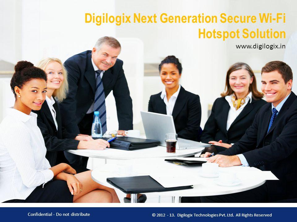 Digilogix Next Generation Secure Wi-Fi Hotspot Solution www. digilogix