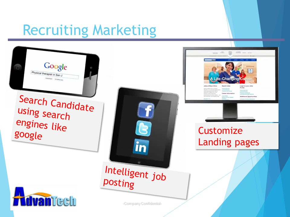 Recruiting Marketing Search Candidate using search engines like google
