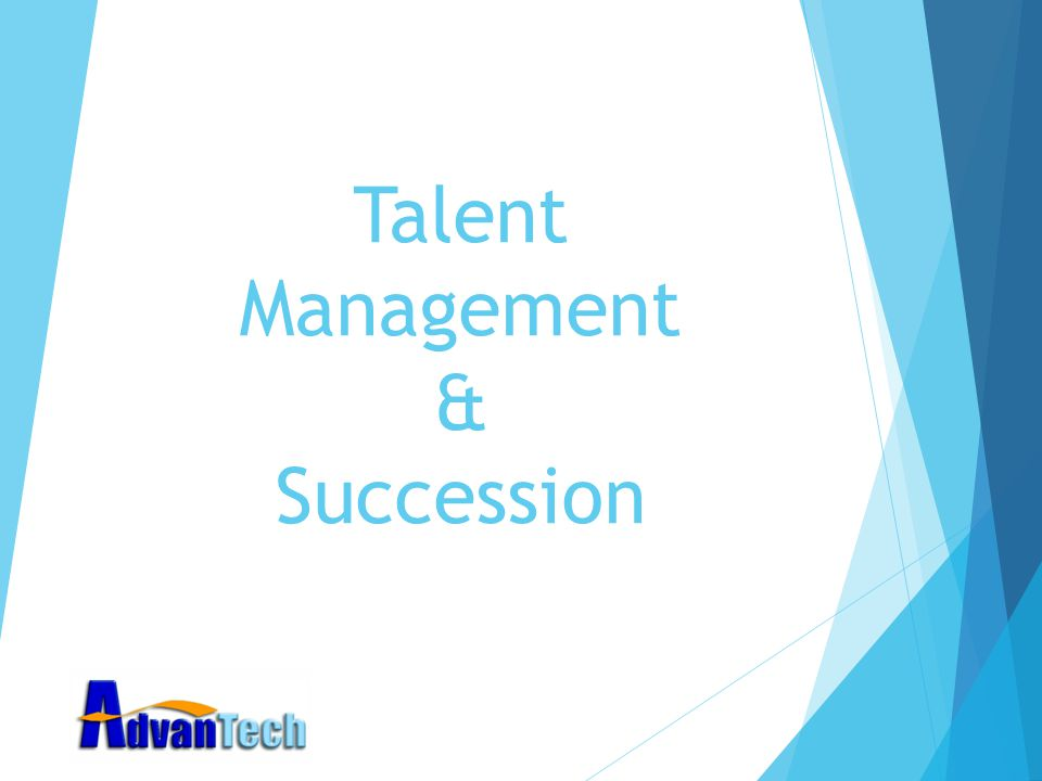 Talent Management & Succession