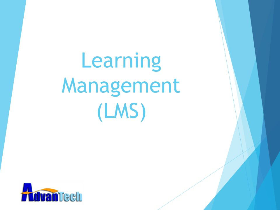 Learning Management (LMS)
