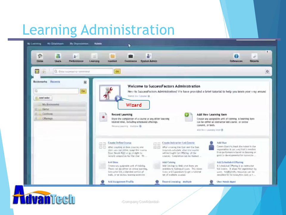 Learning Administration