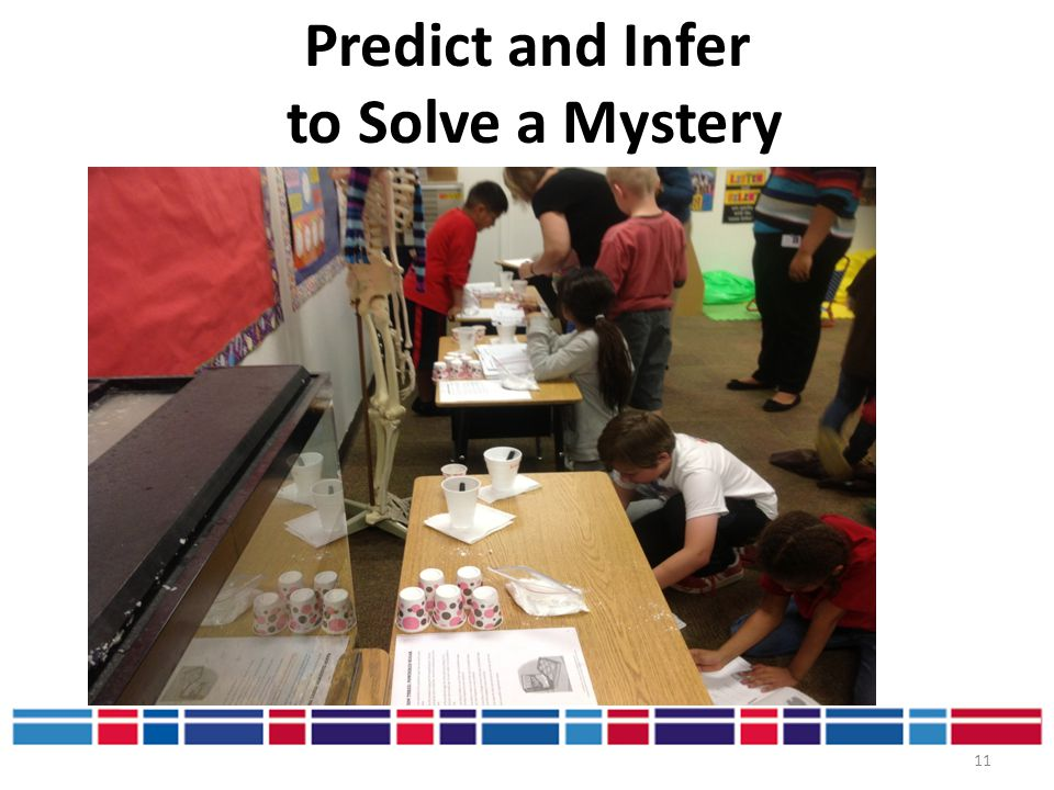 Predict and Infer to Solve a Mystery
