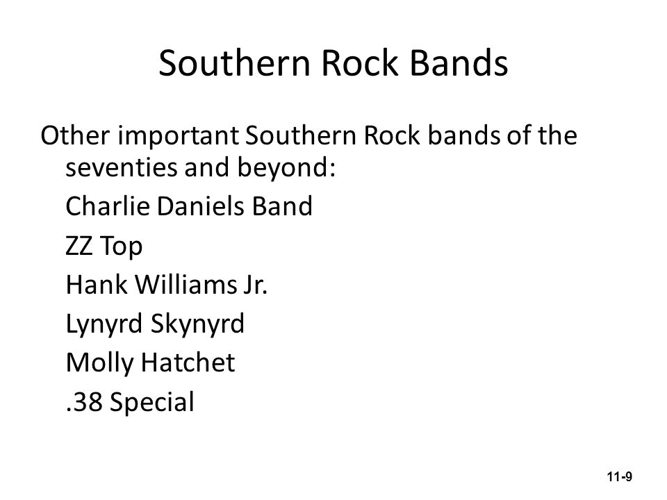 Southern Rock Bands