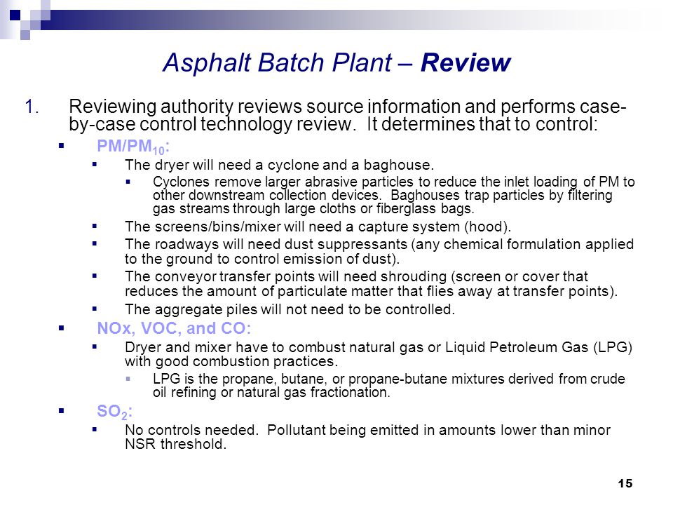 Asphalt Batch Plant – Review