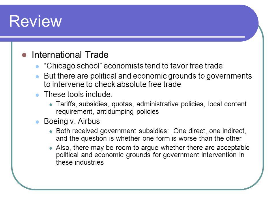 Review International Trade