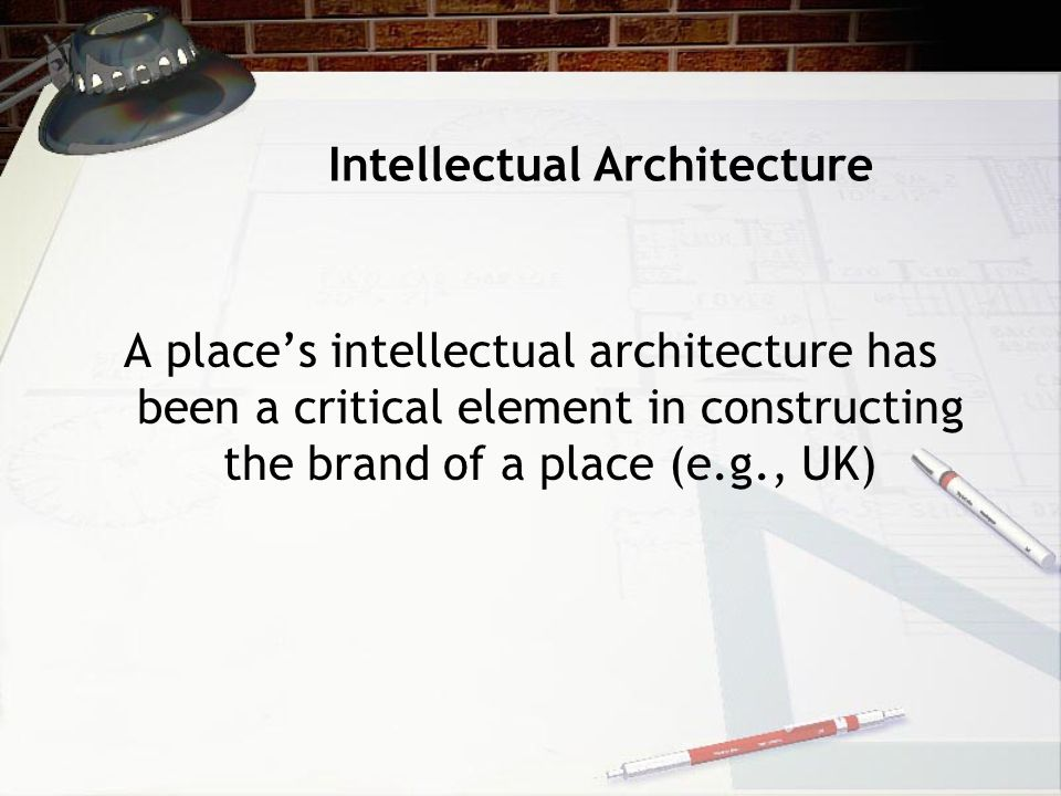 Intellectual Architecture