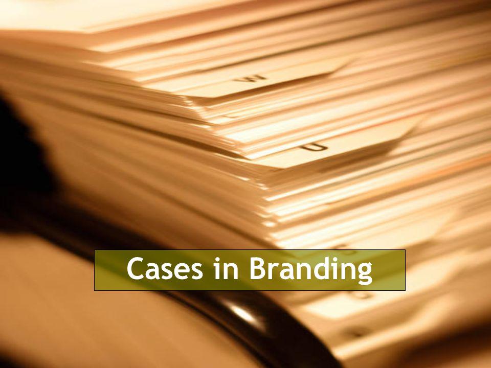 Cases in Branding