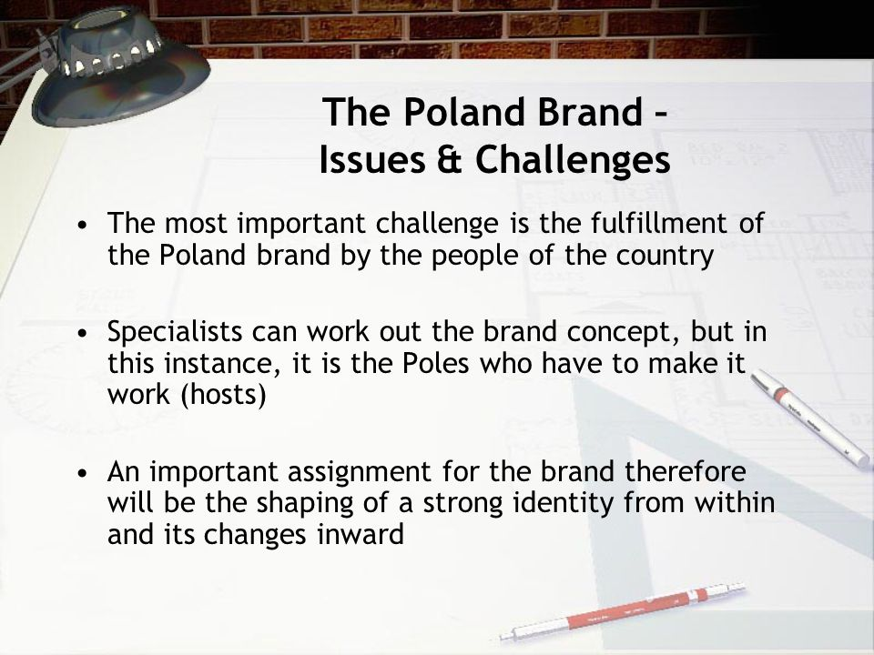 The Poland Brand – Issues & Challenges