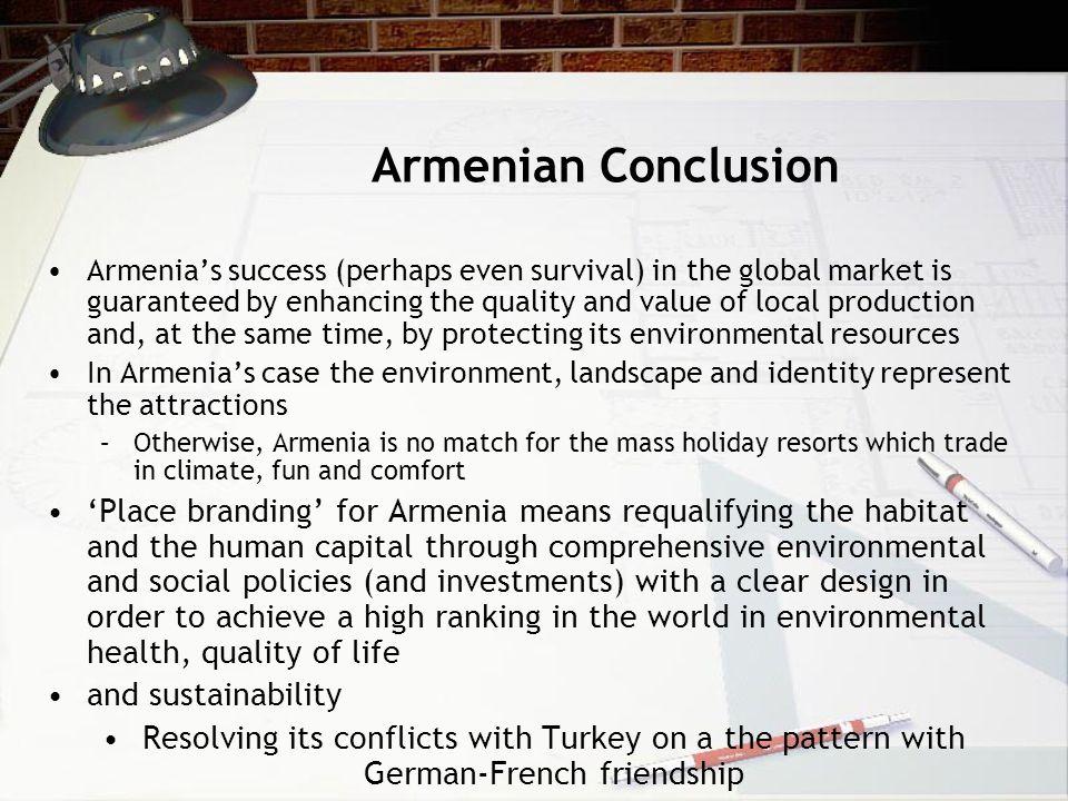 Armenian Conclusion