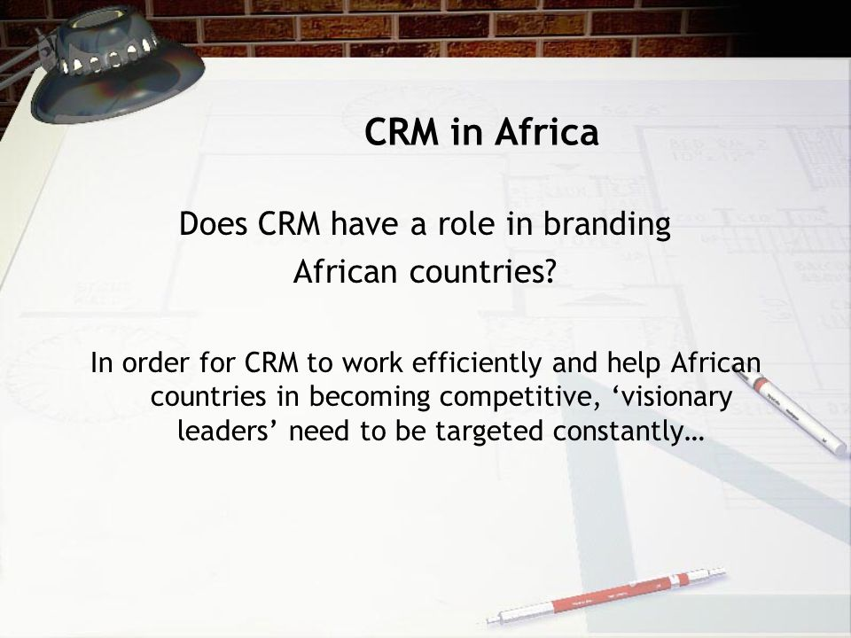 Does CRM have a role in branding