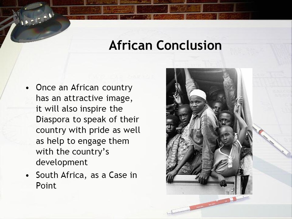 African Conclusion