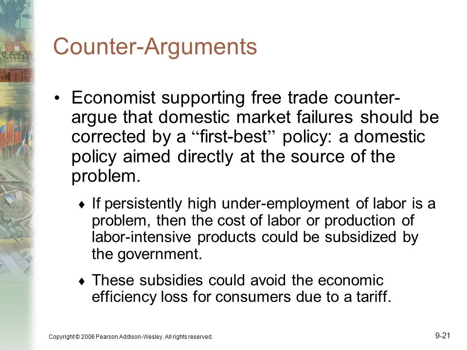 Counter-Arguments