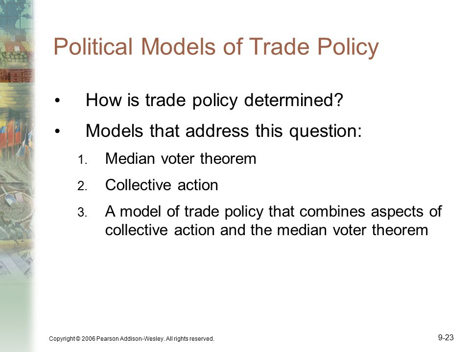 Political Models of Trade Policy