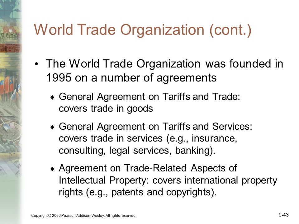 Updating Trade Cooperation: An Economic View