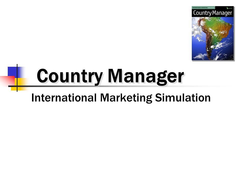 International Marketing Simulation