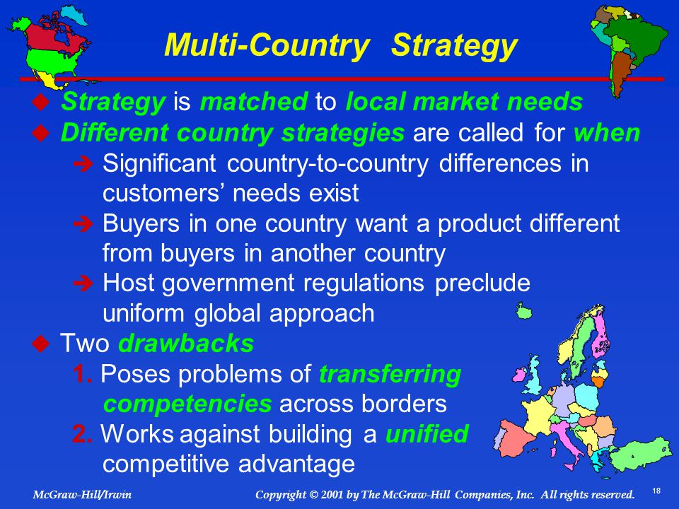 Multi-Country Strategy