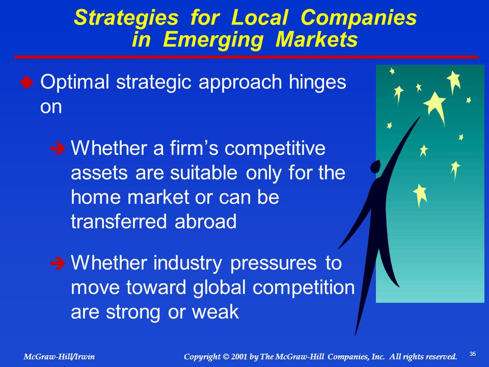 Strategies for Local Companies in Emerging Markets