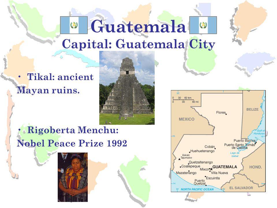 Capital: Guatemala City