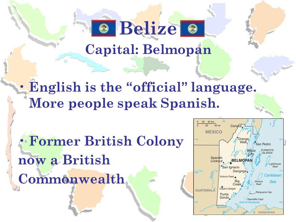 Belize Capital: Belmopan
