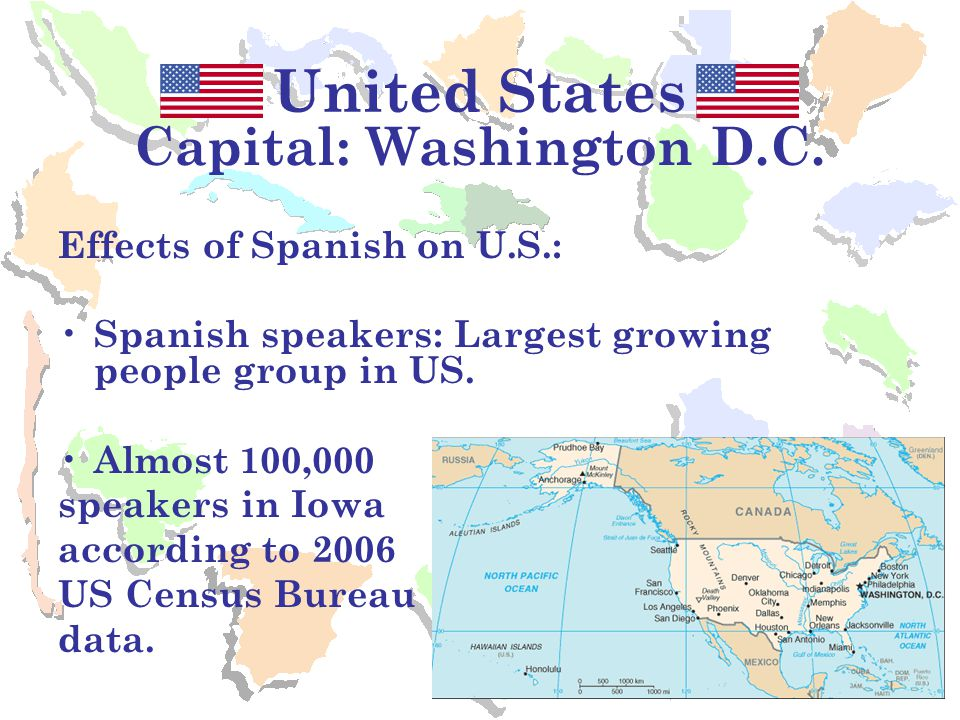 spanish speaking groups in the united states essay Here are nine reasons why spanish is really is not a foreign language in the  not the official language of the united states  person essays,.