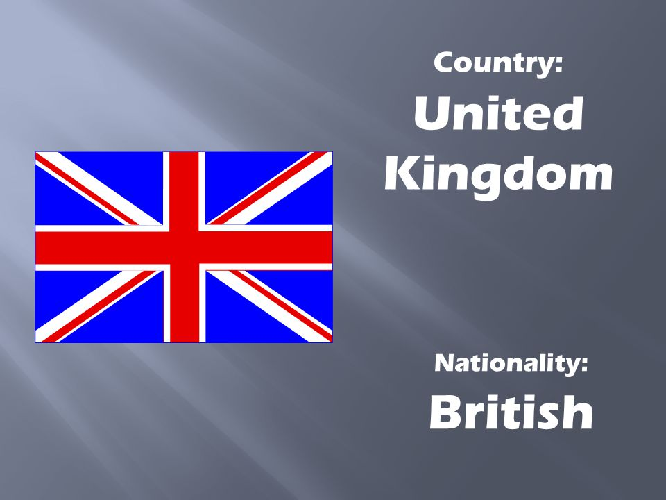 Country: United Kingdom