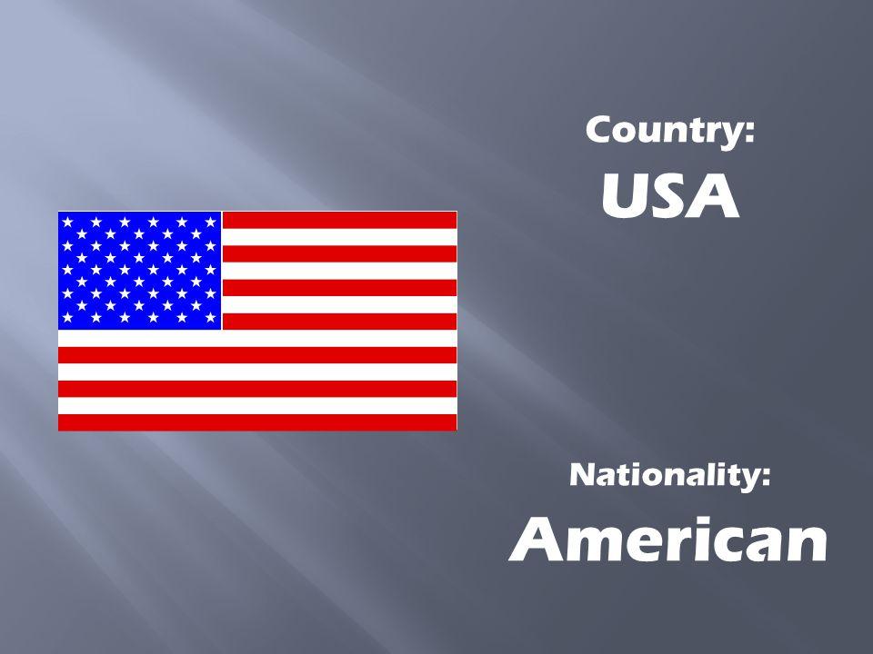 Nationality: American