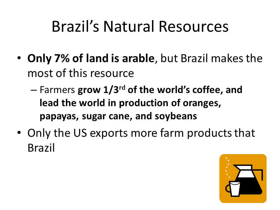 Brazil's Natural Resources