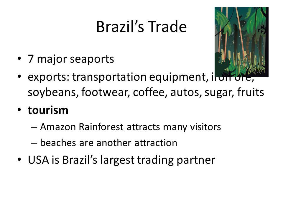 Brazil's Trade 7 major seaports