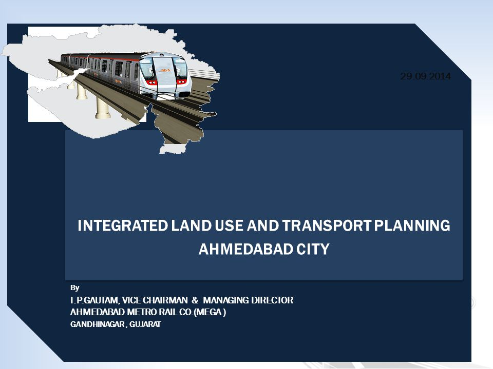 INTEGRATED LAND USE AND TRANSPORT PLANNING