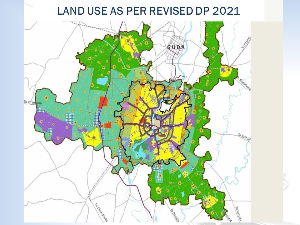 LAND USE AS PER REVISED DP 2021