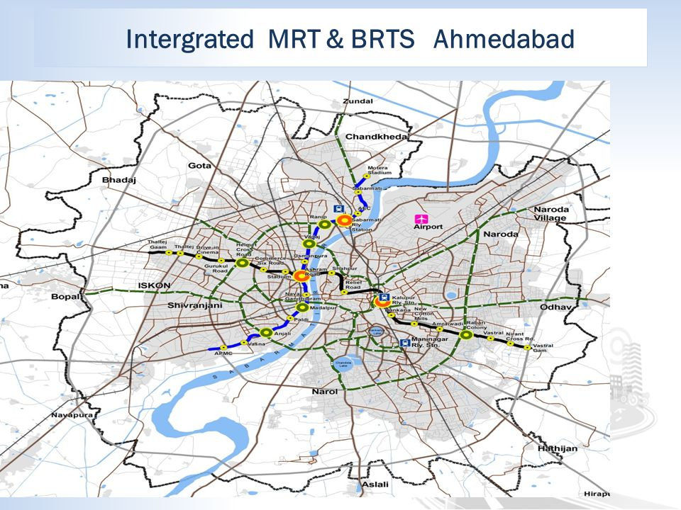 Intergrated MRT & BRTS Ahmedabad