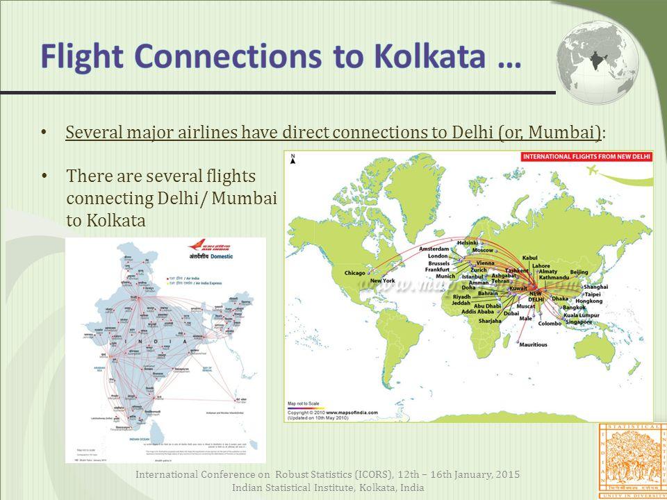Flight Connections to Kolkata …