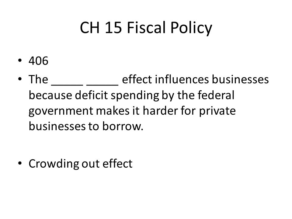 CH 15 Fiscal Policy 406.