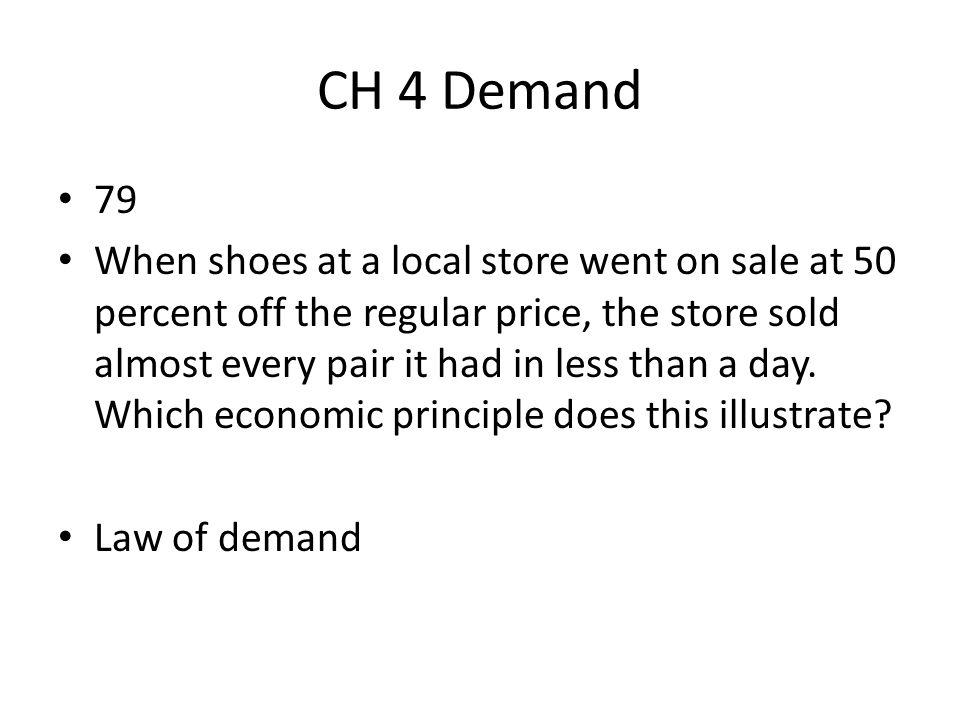 CH 4 Demand 79.
