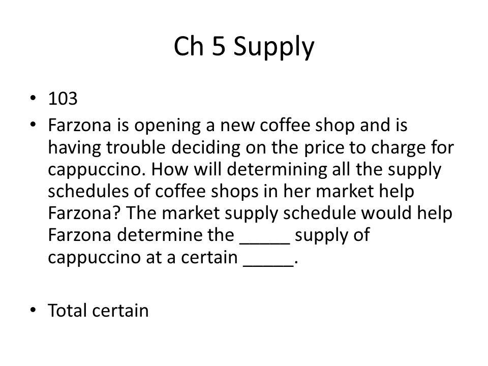 Ch 5 Supply 103.