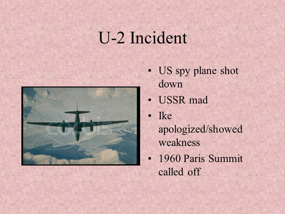 U-2 Incident US spy plane shot down USSR mad
