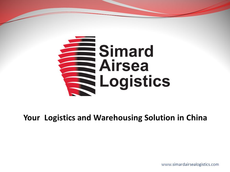 Your Logistics and Warehousing Solution in China