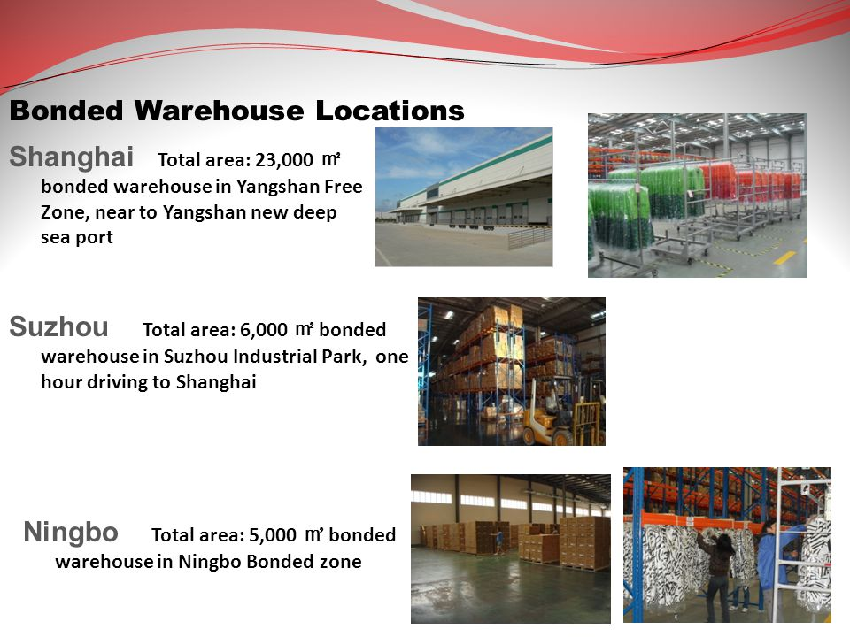 Bonded Warehouse Locations