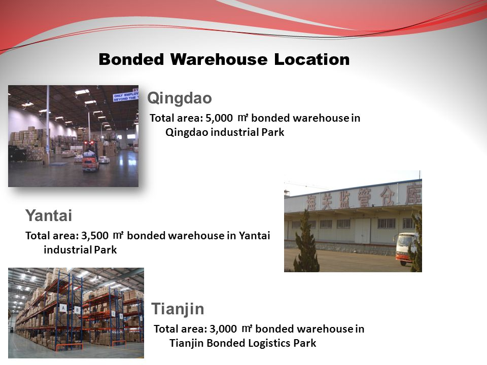 Bonded Warehouse Location
