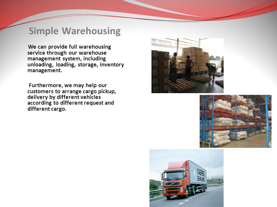 Simple Warehousing