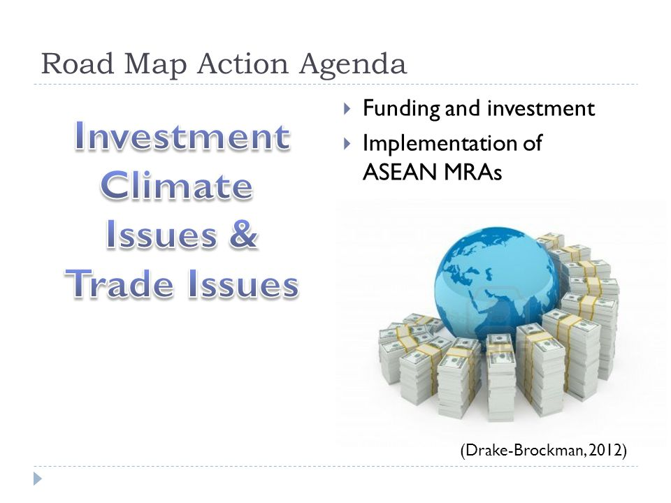 Investment Climate Issues & Trade Issues