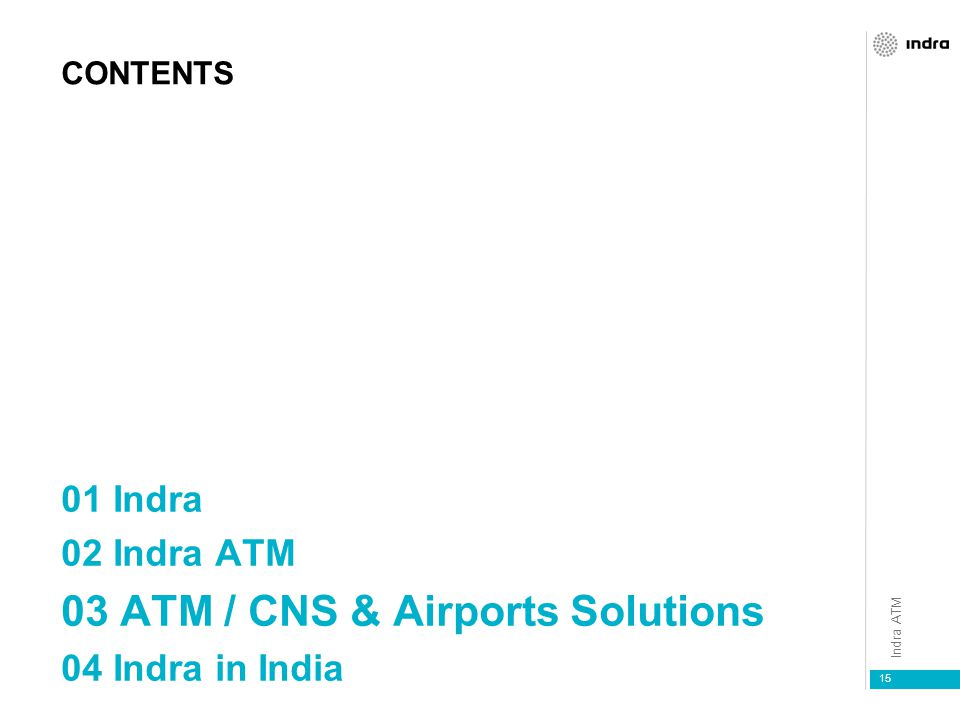 03 ATM / CNS & Airports Solutions