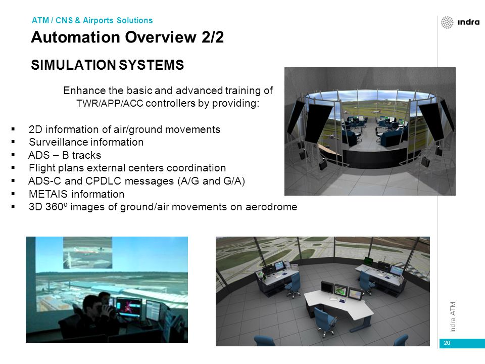 Automation Overview 2/2 Simulation Systems