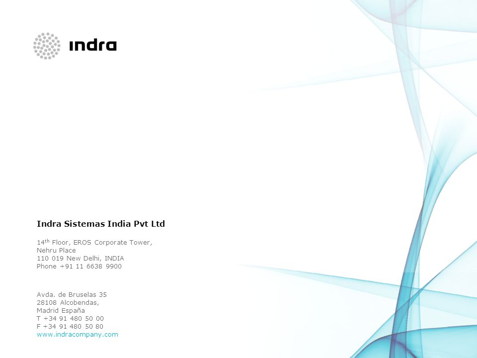 Indra Sistemas India Pvt Ltd