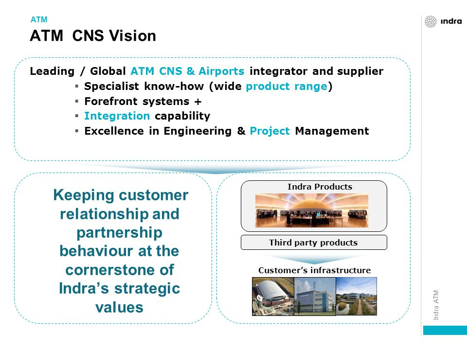 Customer's infrastructure